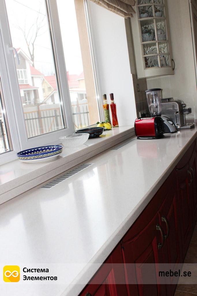Кухонная столешница и подоконник из искусственного камня